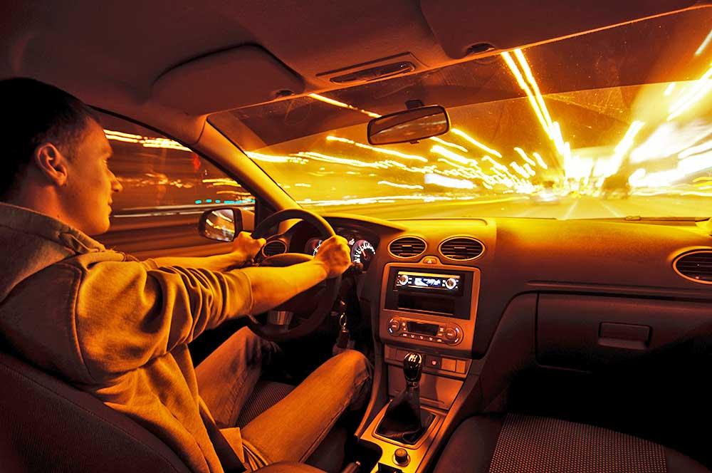 Verkehrsunfall bei Spurwechsel